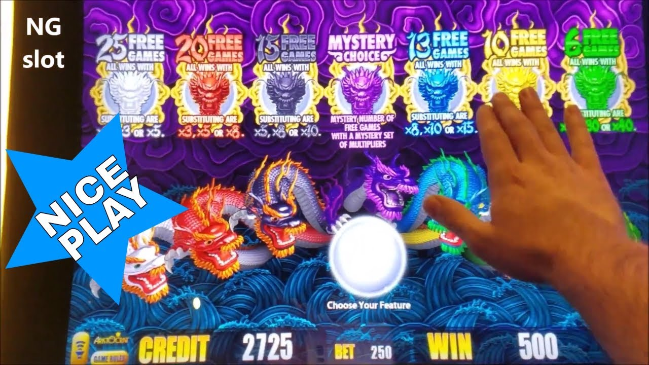 5 Dragons Slot Machine Free Play